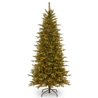 7.5-foot Slim Sierra Spruce Clear Light Tree