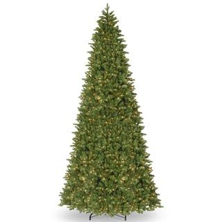 Ridgewood Spruce Slim 14-foot Tree with Clear Lights