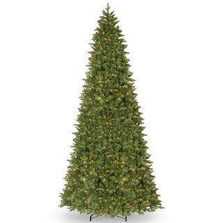 Ridgewood Spruce Slim 14-foot Tree with Clear Lights