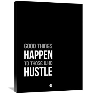 Naxart Studio 'Good Thing Happen' Stretched Canvas Wall Art