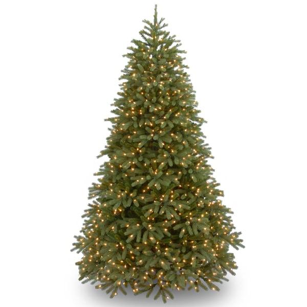 Shop PowerConnect Green Jersey Fraser Fir 7.5-foot Medium Christmas ...