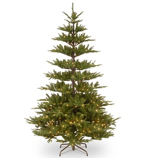 PowerConnect Glenwood Fir 7.5-foot Tree with Clear Lights