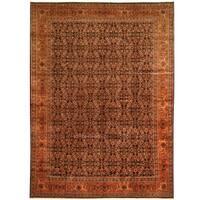 Handmade Herat Oriental Persian Tribal Tabriz Wool Rug (Iran) - 8'2 x 11'2
