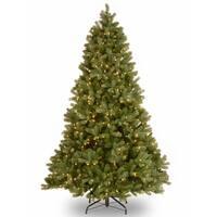 Downswept Douglas Fir 7.5-foot Tree with Light Parade LED Lights