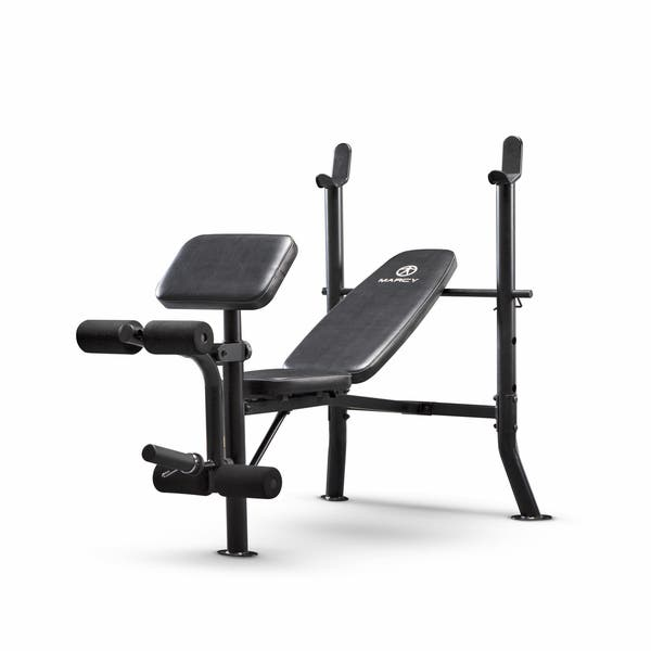Marvelous Shop Marcy Black Standard Weight Bench Free Shipping Today Machost Co Dining Chair Design Ideas Machostcouk