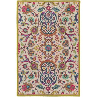 Julietta Bohemian Festival Area Rug - 8' x 11' (Option: Ivory)