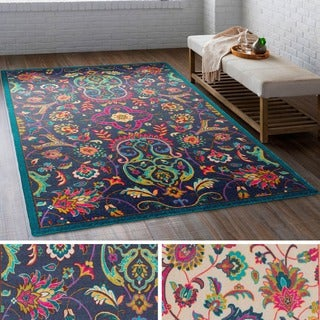Meticulously Woven Western Nylon Rug (8' x 11')