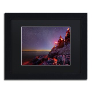 Michael Blanchette Photography 'Red Lantern' Matted Framed Art