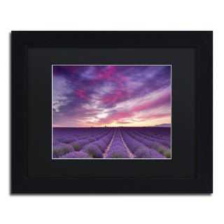 Michael Blanchette Photography 'Pink and Purple' Matted Framed Art