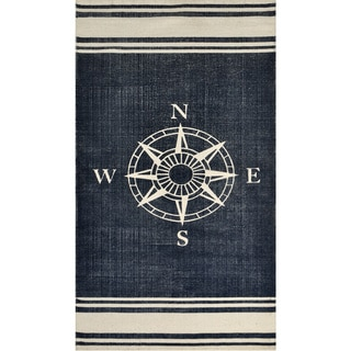 Nautical Cotton Rug (2'3 x 4'6)