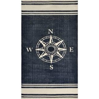 Nautical Cotton Rug (2'3 x 4'6) - 2'3 x 4'6 https://ak1.ostkcdn.com/images/products/13008426/P19751922.jpg?impolicy=medium