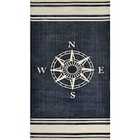 Nautical Cotton Rug - 2'3 x 4'6