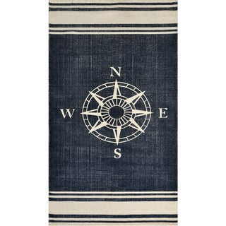 Nautical Cotton Rug (2'3 x 4'6) - 2'3 x 4'6