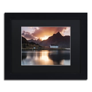 Michael Blanchette Photography 'House on the Point' Matted Framed Art