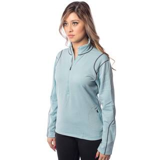 Spiral Women's Fleece Polartec Power Stretch Pullover|https://ak1.ostkcdn.com/images/products/13008451/P19751988.jpg?impolicy=medium