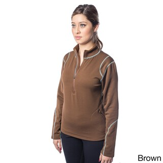 Spiral Women's Fleece Polartec Power Stretch Pullover (More options available)