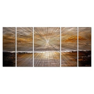 Osnat 'Sunset 2' Metal Wall Art