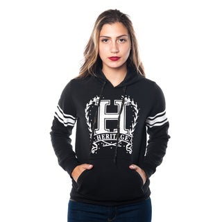 Special One Ladies' Fleece Double Hood Sweatshirt Embellished with Appliques
