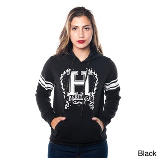 Special One Ladies' Fleece Double Hood Sweatshirt Embellished with Appliques