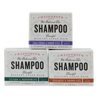 J.R. Liggett's Old Fashioned 3.5-ounce Shampoo Bar (3 Pack)
