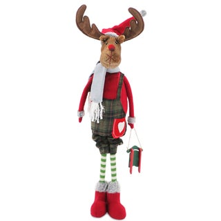 Mister Moose 36-inch Plush Holiday Figurine