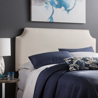 Humble + Haute Raleigh Full Size Ivory Upholstered Headboard