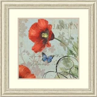 Framed Art Print 'Jardin' by Aimee Wilson 29 x 29-inch
