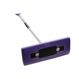 Snow Joe Illum-n-Broom LED-lighted Purple 4-in-1 Ice Scraper
