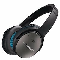 Bose QuietComfort 25 Acoustic Noise Cancelling Headphones (Apple Devices, Black)