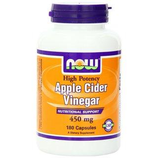 Now Foods 450mg Apple Cider Vinegar (180 Capsules)