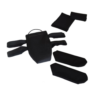 Senior Mobility Crutch Under Arm Covers, Padded Hand Grips and Pouch Bag Set