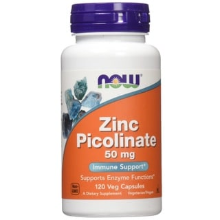 Now Foods 50mg Zinc Picolinate (120 Capsules)