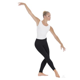 EuroSkins Active White/Black Microfiber Leggings