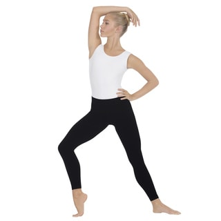 Active by EuroSkins Black Microfiber Seamless Leggings