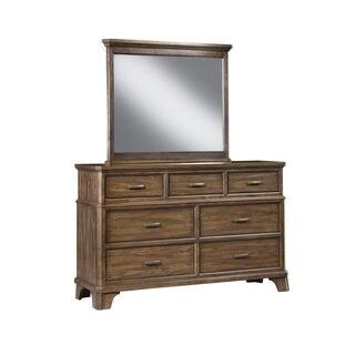Telluride Vintage Oak Mirror