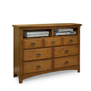 Pasadena Revival Mission 7-Drawer Media Chest