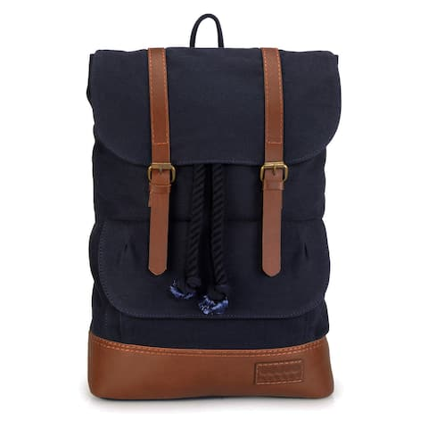 Handmade Phive Rivers Leather Backpack (Blue) (Italy)