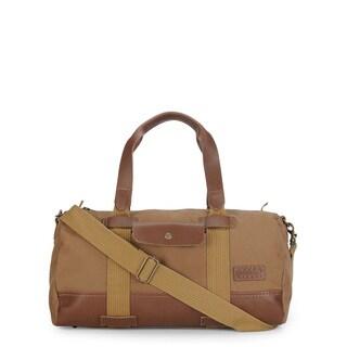 Phive Rivers Leather Duffle Bag/ Weekender Bag (Khaki)