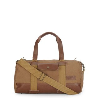 Handmade Phive Rivers Leather Duffle Bag/ Weekender Bag (Khaki)