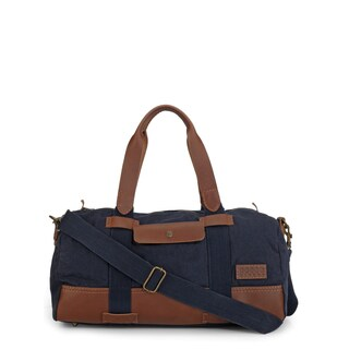 Handmade Phive Rivers Leather Duffle Bag/ Weekender Bag (Blue)