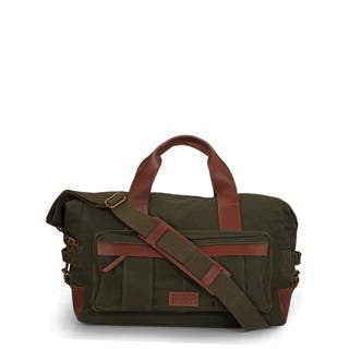 Handmade Phive Rivers Leather Duffle Bag/ Weekender Bag (Green)|https://ak1.ostkcdn.com/images/products/13009199/P19752639.jpg?impolicy=medium