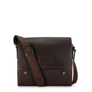 Handmade Phive Rivers Leather Messenger Bag (Brown)