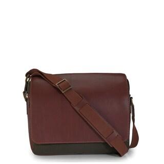 Handmade Phive Rivers Leather Messenger Bag (Green)