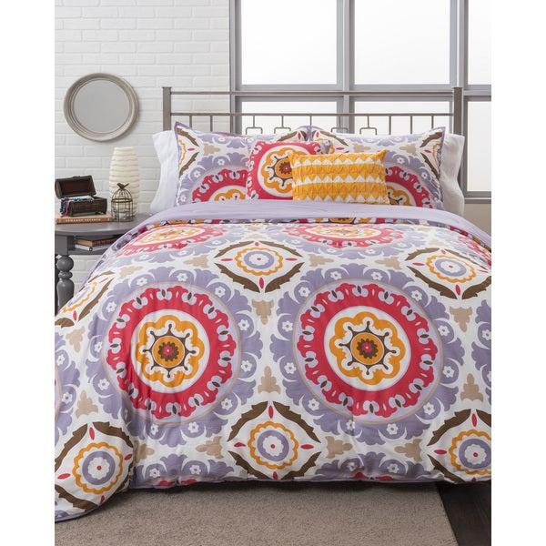 Mackenzie Medallion Comforter Set