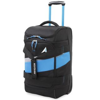 Navigator Polyester 26-inch Rolling Duffel Bag