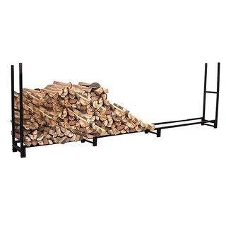 HIO Heavy Duty Firewood Storage Rack 12 Foot Fireplace Log holder