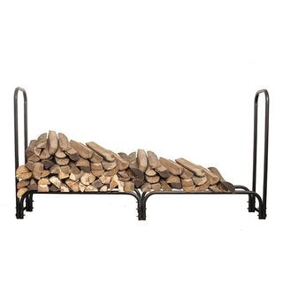 HIO Firewood Rack 5 Foot Fireplace Log Holder