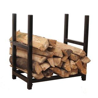 HIO Firewood Racks 2 Feet Small Fireplace Log Holder