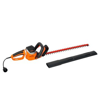 Garcare 4.8-Amp Corded Hedge Trimmer with 24-Inch Laser Cutting Blade, Blade Cover Included