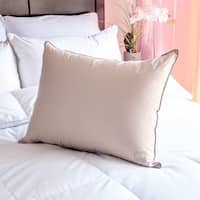Nikki Chu Soft Clay White Down Pillow